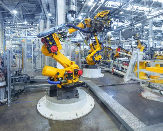 Industrieroboter-Anwendungen